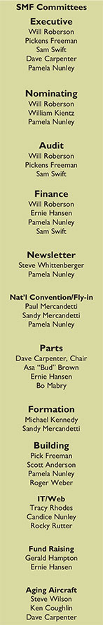Swift Museum Foundation Committees
