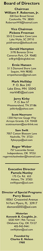 Swift Museum Foundation Board of Directors Contact Information