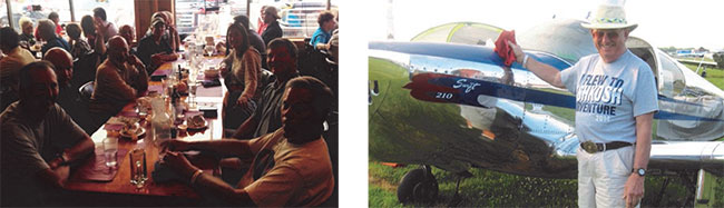 Swift Museum Foundation Members at AirVenture 2014