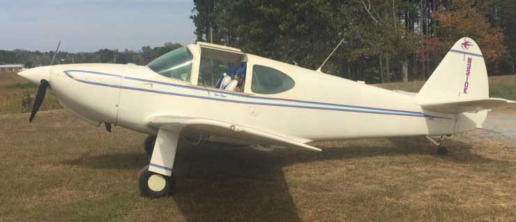 For Sale: 1948 Temco Swift GC-1B – N3310K